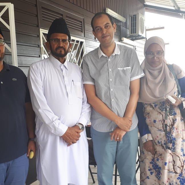 Réunion de travail avec l'association ahmadya