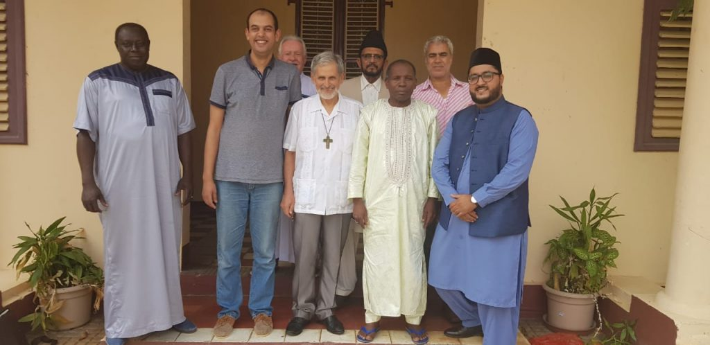 invitation de l'évêque de Cayenne aux représentants de la fédération des musulmans de la Guyane