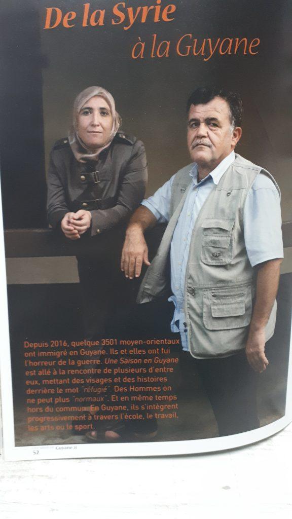 Article sur les réfugiés syriens et palestiniens