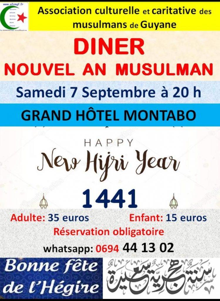 Dîner nouvel an musulman