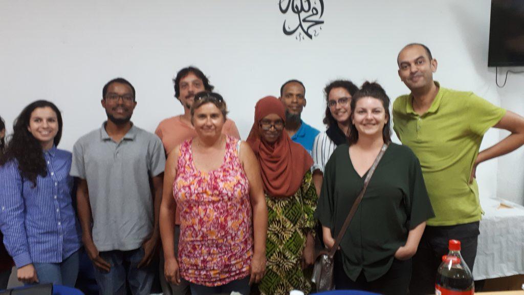 Formation avec l'équipe de la CIMADE concernant l'intégration des réfugiés