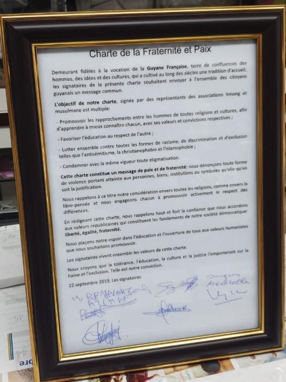 Charte de la Fraternité et Paix
