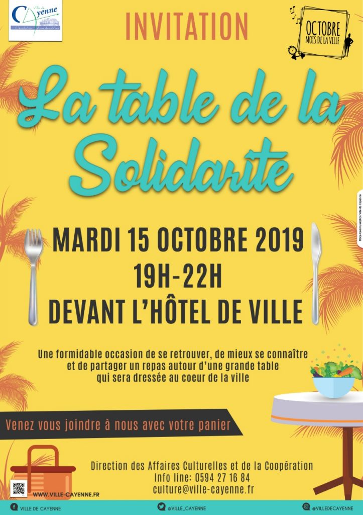 TABLE DE LA SOLIDARITÉ