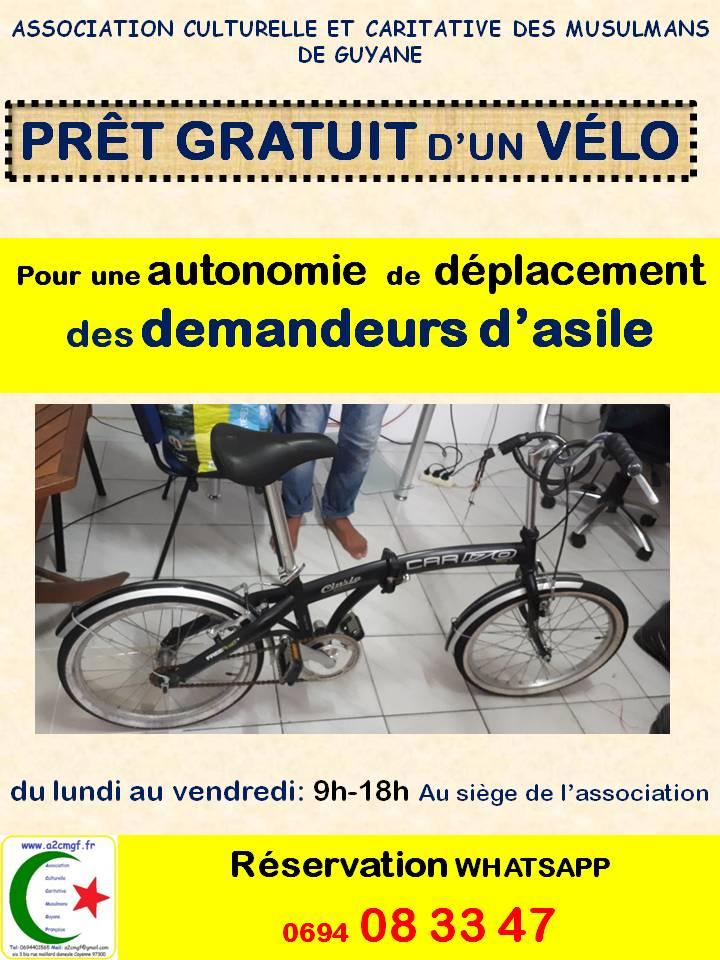 Prêt Vélo demandeurs d'asile