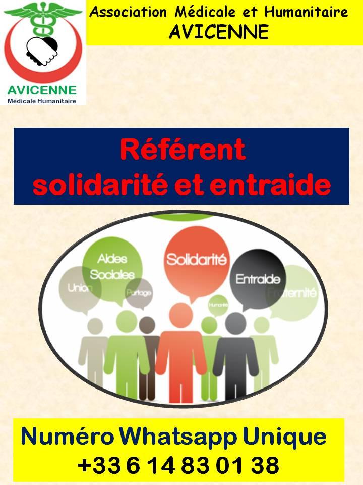 Référent  solidarité et entraide