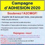 Campagne d'adhésion 2020