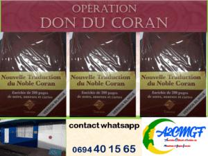 Opération DON du CORAN